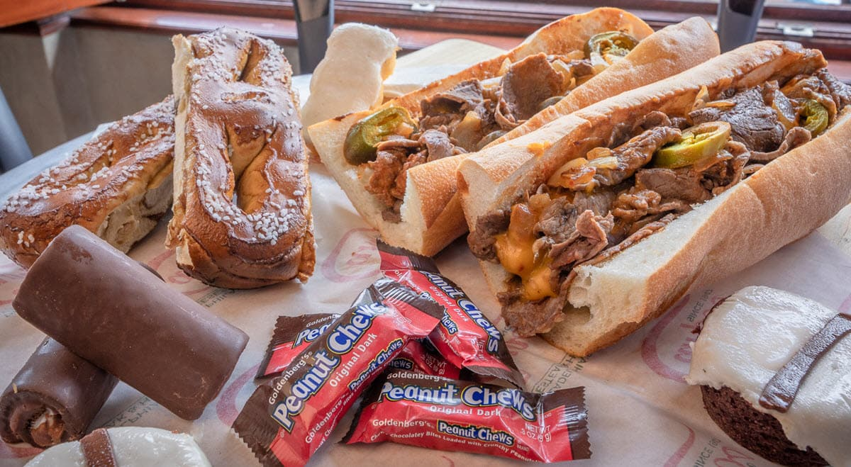 Best of Philly Cheesesteak combo by Campo's
