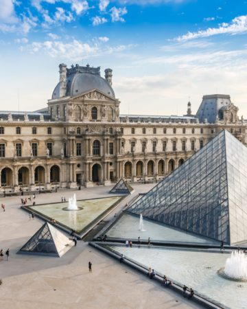 Электронные билеты в художетсвенный музей Лувра в Париже