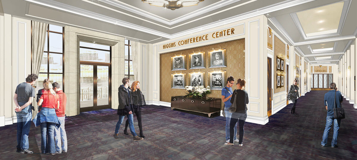 Отель Higgins Hotel & Conference Centre в Новом Орлеане