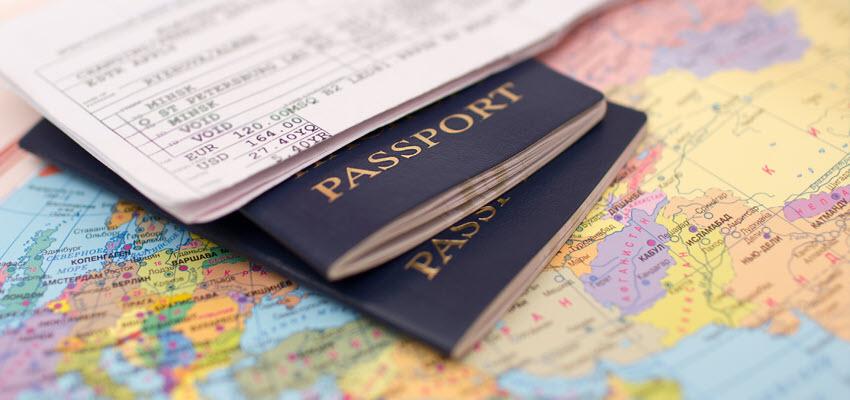 Паспорта и регистрация на круиз