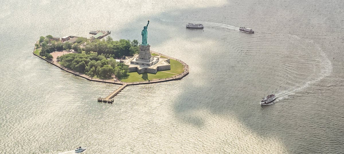 Statue Of Liberty and Ellis Island Ferry Ticket