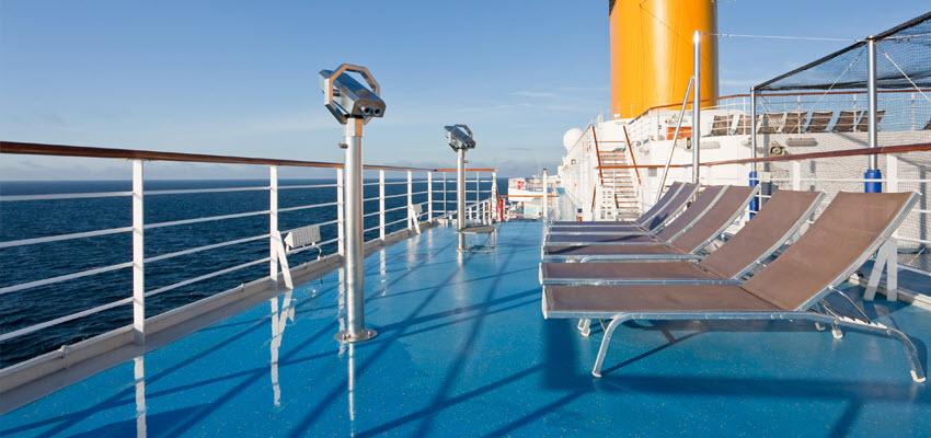 Тишина на палубе