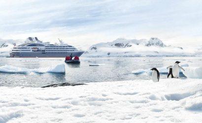 Новогоднее путешествие в Антарктиду на мега-яхте Le Boréal